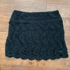 Urban Outfitters Lace Skirt
